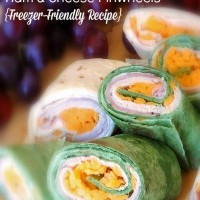 Ham and Cheese Pinwheels – Freezer Friendly Recipe