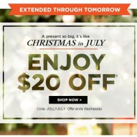 Shutterfly: $20 off $20 or more!