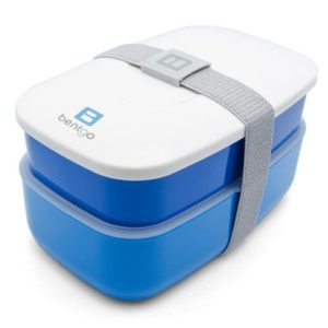 Bentgo All-in-One Stackable Lunch Bento Box, Blue