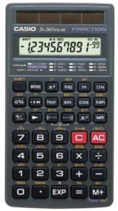 Casio fx-260 SOLAR Scientific Calculator, Black