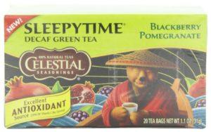 Celestial Seasonings Sleepytime Decaf Blackberry Pomegranate Tea, 20 Count