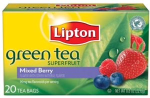 Lipton Green Tea Superfruit, Mixed Berry 20 ct