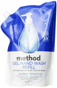 Method Gel Hand Wash Refill, Sea Minerals, 34 Ounce (Pack of 6)