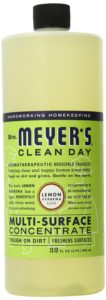 Mrs. Meyer's Clean Day Multi-Surface Concentrated Cleaner, Lemon Verbena, 32 Fluid Ounce (Pack of 2)