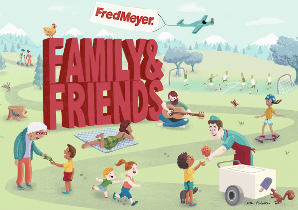 Family & Friends Pass at Fred Meyer