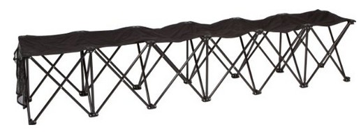 Folding 6-Seater Bench