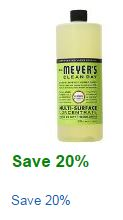 mrs. meyer's cleaners coupon
