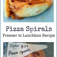 Pizza Spirals Recipe – Freezer to Lunchbox