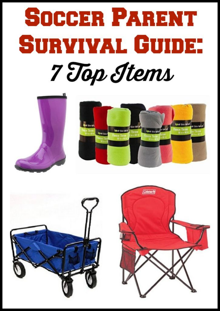 Soccer Parent Survival Guide: 7 Top Items
