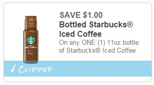 picture regarding Starbucks Coupon Printable called $1/1 Starbucks Iced Espresso Printable Coupon \u003d Much better Than
