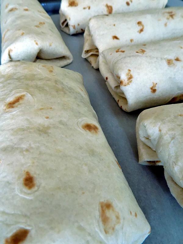 Flash Freezing Breakfast Burritos