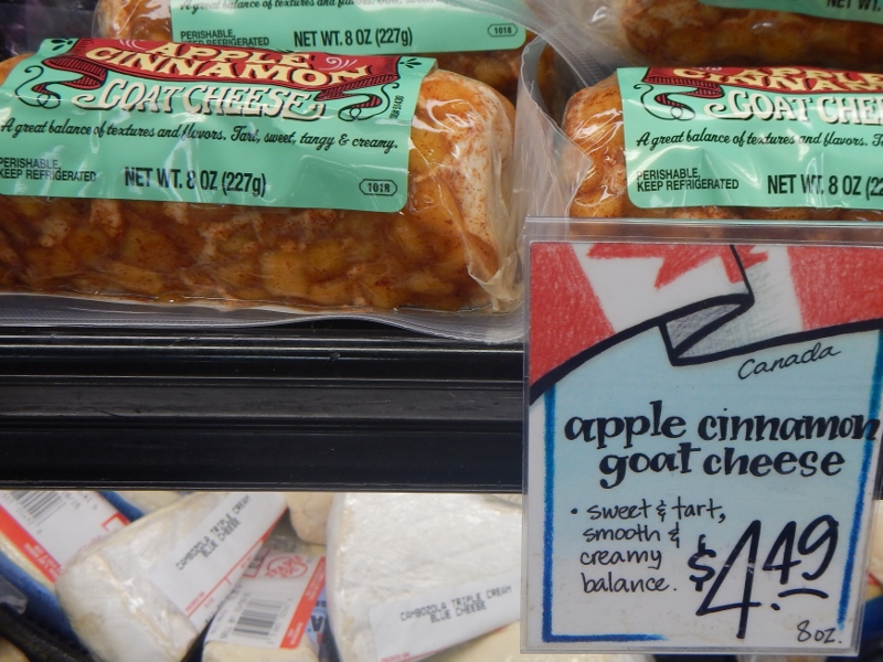 Apple Cinnamon Goat Cheese - Trader Joe's