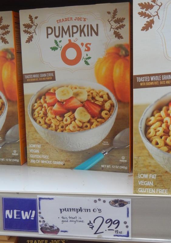 Pumpkin O's - Trader Joe's