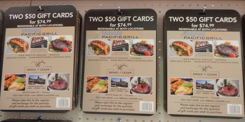 Pacific Grill Gift Cards Deal at Costco