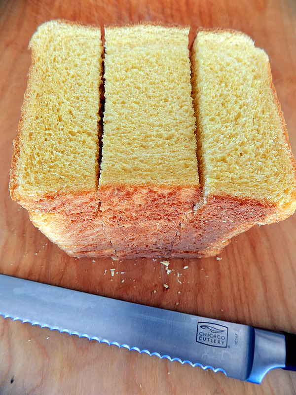 Cut Loaf for French Toast Sticks