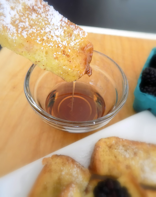 Syrup and French Toast Sticks