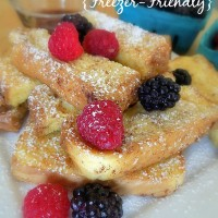 Baked Cinnamon French Toast Sticks Recipe – Freezer Friendly