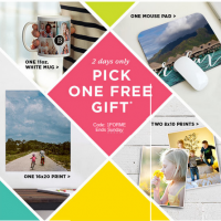 Shutterfly: FREE Mug, 16×20 Print, Mouse Pad or Two 8×10 Prints
