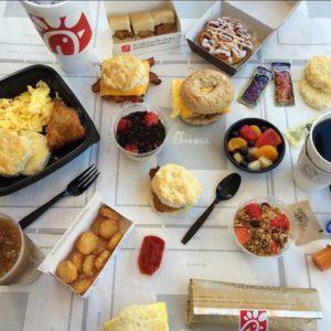 chickfila breakfast