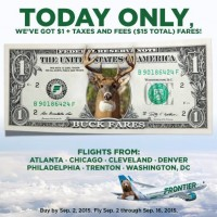 *HOT* Frontier Airlines: 1-Way Flights as low as $15