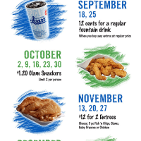 Ivar's Seahawks Promotion: 12th Clam Specials on Blue Fridays