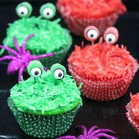 Monster Eyes Cupcakes: Cute Recipe Idea for Halloween