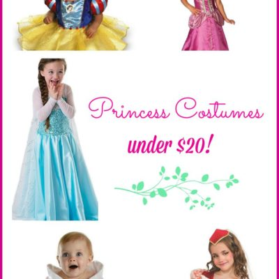 20 Princess Costumes Under $20