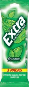 Extra Gum, Spearmint, 4.28 Ounce