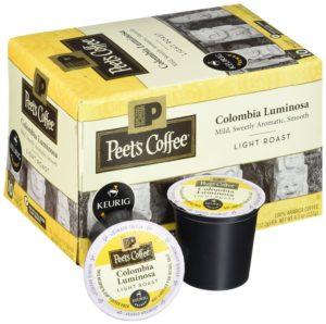 Peet's Coffee & Tea Colombia Luminosa 10ct, 10 Count
