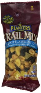 Planters Trail Mix, Fruit & Nut, 2-oz. Bags (Count of 72)