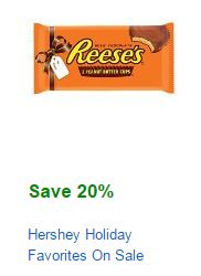 hershey's holiday candy coupon