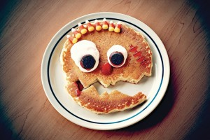 IHOP Restaurants Scary Face Pancakes