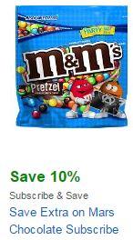 mars chocolate coupon