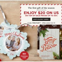 Shutterfly: $20 off $20 or More – ends today!