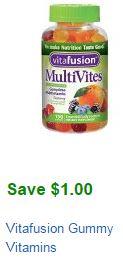 vitafusion coupon