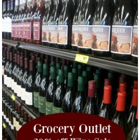 Grocery Outlet 20% off Wine Sale