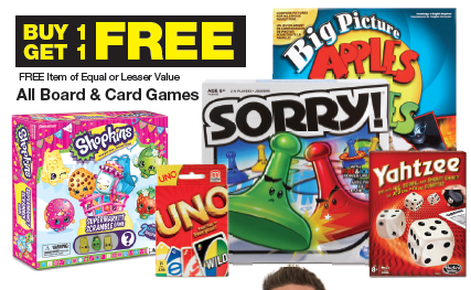Black Friday- Buy One Get One Free Board Games