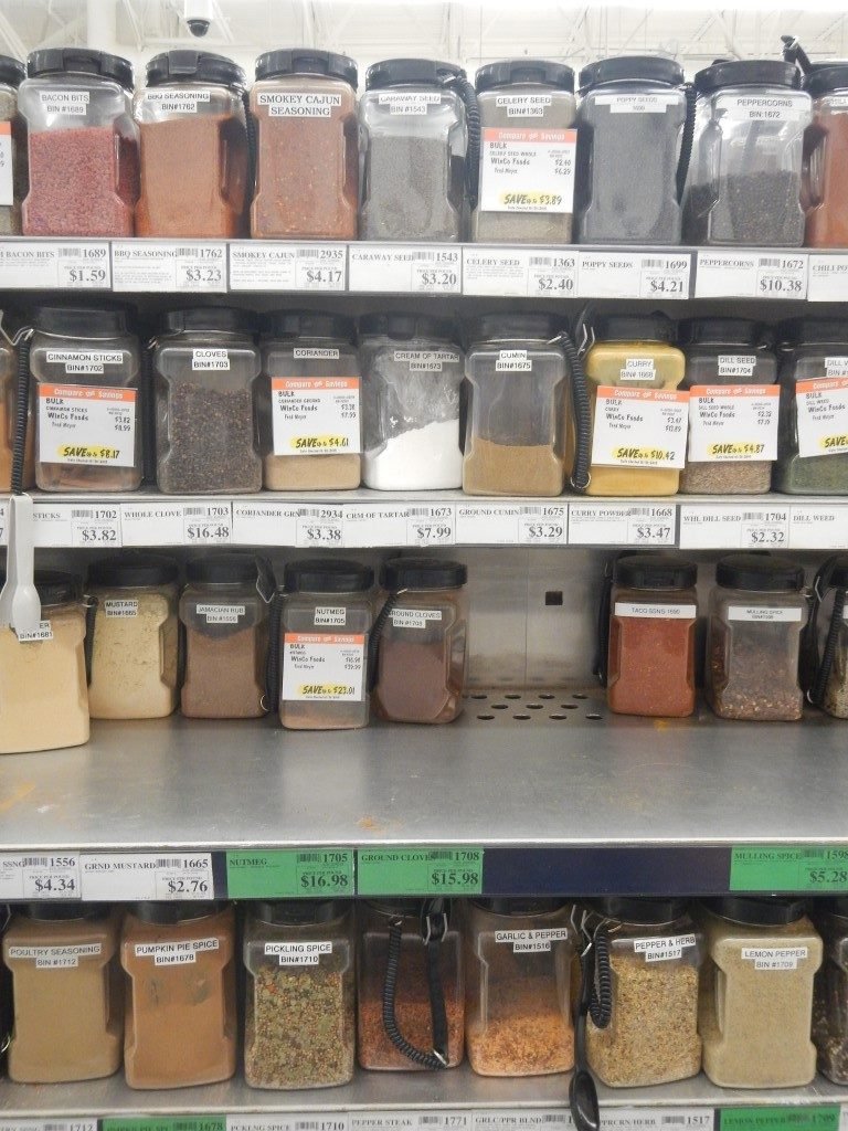 Buying Spices in Bulk