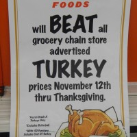 WinCo: Will Beat Advertised Thanksgiving Prices, including Turkeys