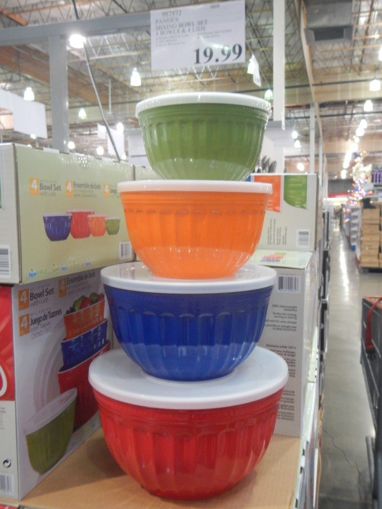 Stacking Bowls at Costco