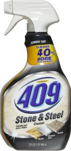 Formula 409 Stone and Steel Cleaner Spray Bottle, 32 Fluid Ounces