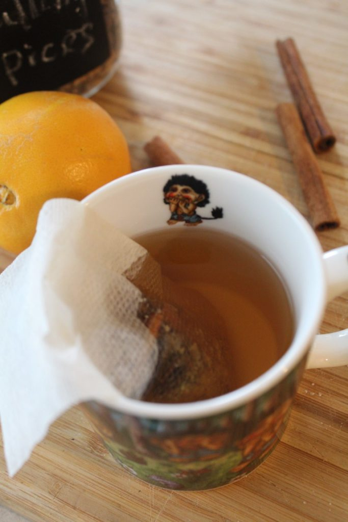 Hot Cider with Mulling Spices