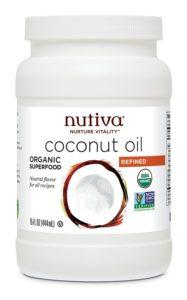 Nutiva Coconut Oil, Refined, 15 Ounce