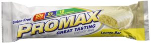 Promax Protein Bar, Lemon Bar, 2.64 Ounce, 12-pack
