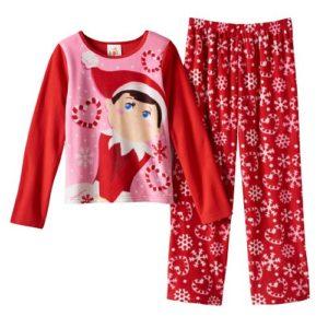 The Elf on the Shelf Snowflake Pajama Set - Girls 4-10