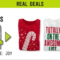 crazy8 cyber monday holiday tees