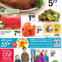 Fred Meyer Ad - 11/1