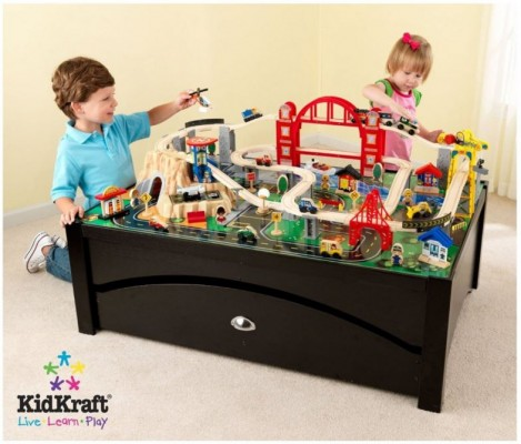 Target.com KidKraft Metropolis Train Table with 100-Piece Train Set for $111.74 (or less) + FREE shipping & Target.com: KidKraft Metropolis Train Table with 100-Piece Train Set ...