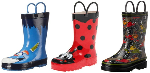 Amazon: Kids' Rain Boots as low as $10.24!