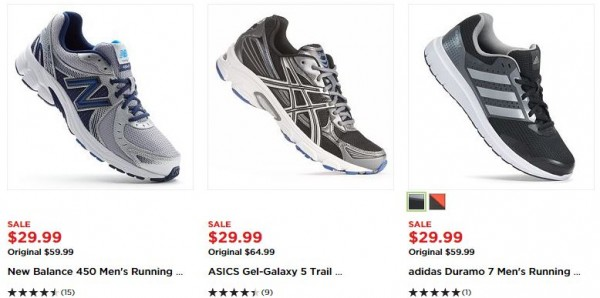 kohl's athletic shoes